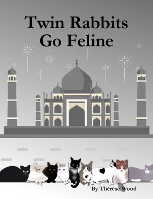 TWIN RABBITS GO FELINE