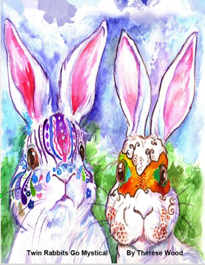 TWIN RABBITS GO MYSTICAL