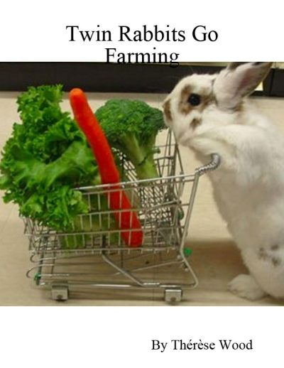 TWIN RABBITS GO FARMING