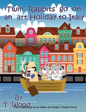 TWIN RABBITS GO ON AN ART HOLIDAY TO ITALY